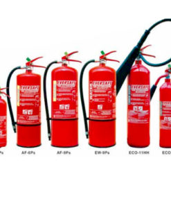 C02, Dry Chemical, Foam, Water Extinguishers